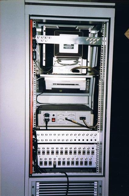 Further view of cabinet wiring